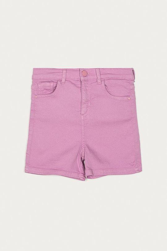 fialovo-růžová Guess - Dětské riflové kraťasy 116-176 cm Dívčí