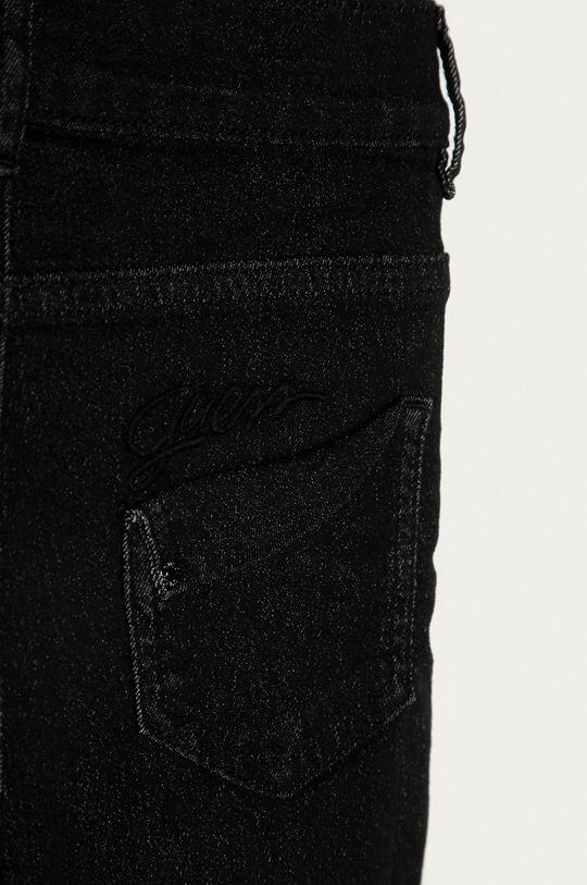 černá Guess - Dětské riflové kraťasy 116-176 cm
