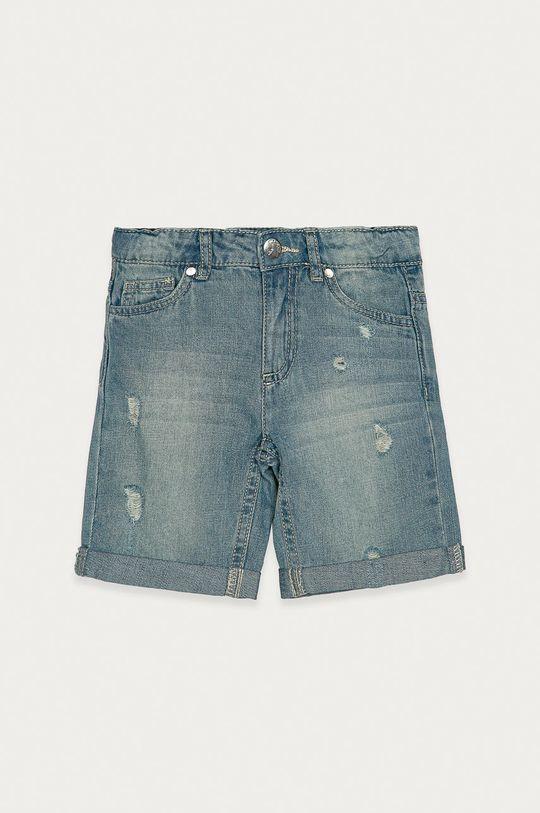 svetlomodrá OVS - Detské rifľové krátke nohavice 110-134 cm Dievčenský