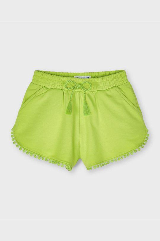 verde pal Mayoral - Pantaloni scurti copii De fete