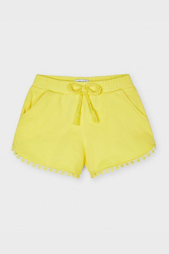 galben Mayoral - Pantaloni scurti copii De fete