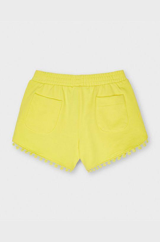 Mayoral - Pantaloni scurti copii galben