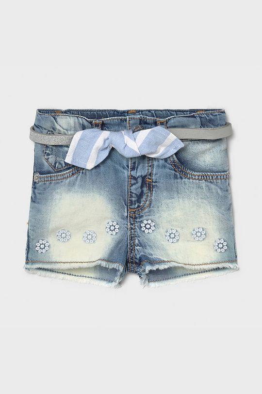 Mayoral - Pantaloni scurti copii albastru pal