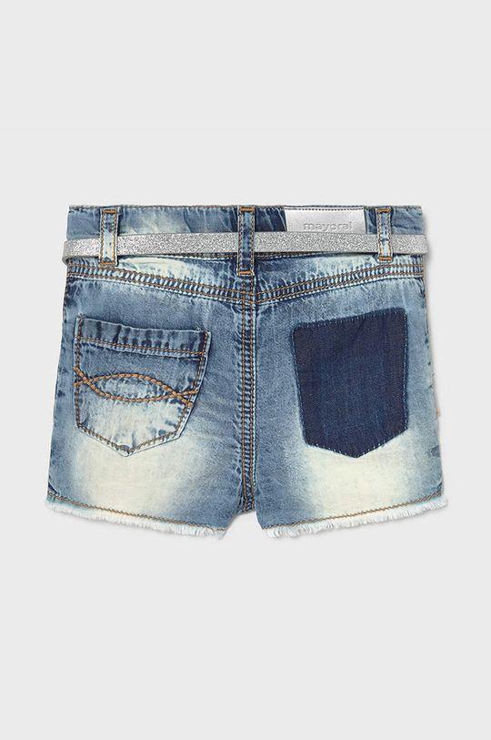 Mayoral - Pantaloni scurti copii  Material 1: 100% Bumbac Material 2: 18% Bumbac, 12% In, 70% Poliuretan