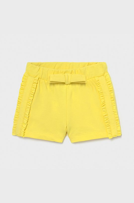 žlutá Mayoral - Dětské kraťasy Dívčí
