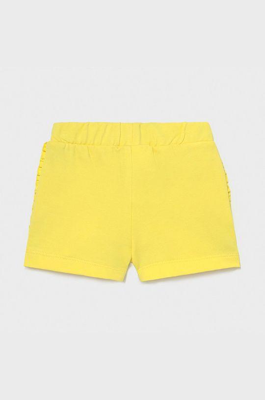 Mayoral - Dětské kraťasy žlutá