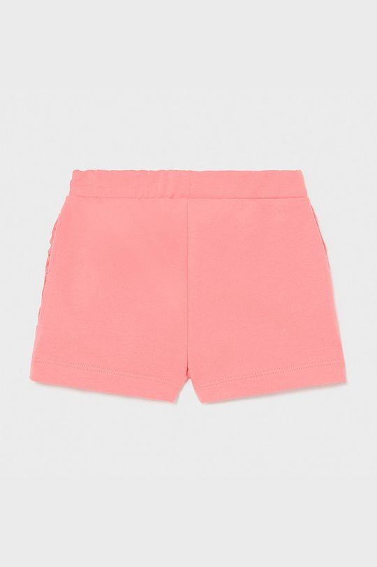 Mayoral - Detské krátke nohavice koralová