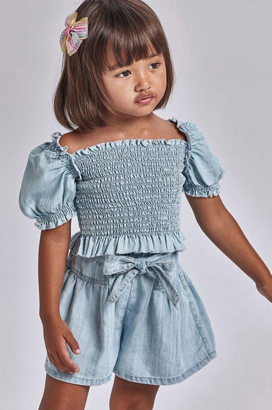 jasny niebieski Mayoral - Szorty dziecięce Dziewczęcy