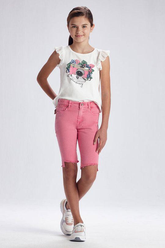 růžová Mayoral - Dětské kraťasy Dívčí