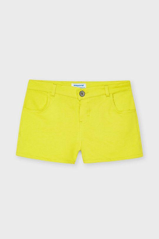 žltá Mayoral - Detské krátke nohavice Dievčenský