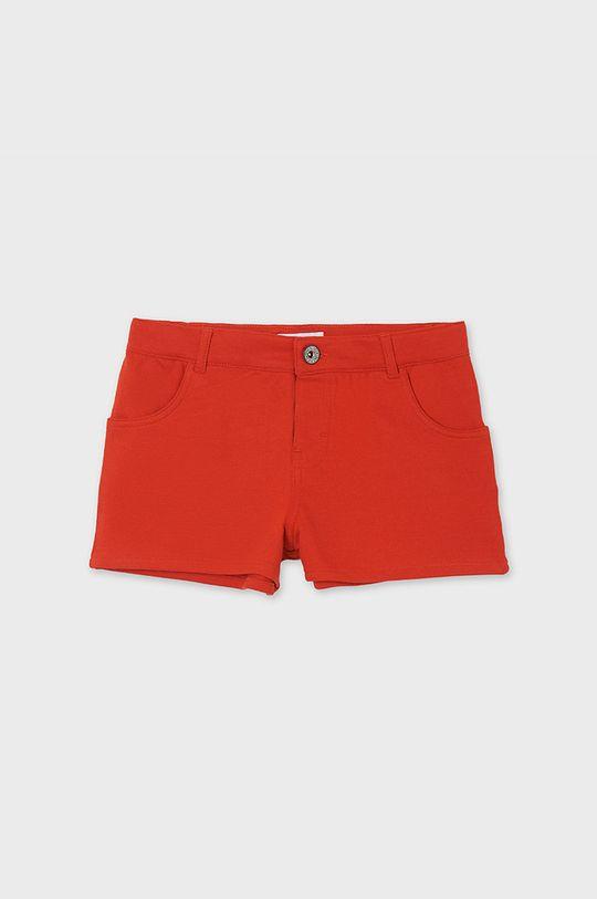 Mayoral - Detské krátke nohavice červená