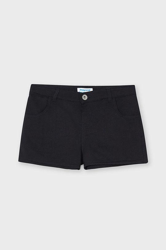 čierna Mayoral - Detské krátke nohavice Dievčenský