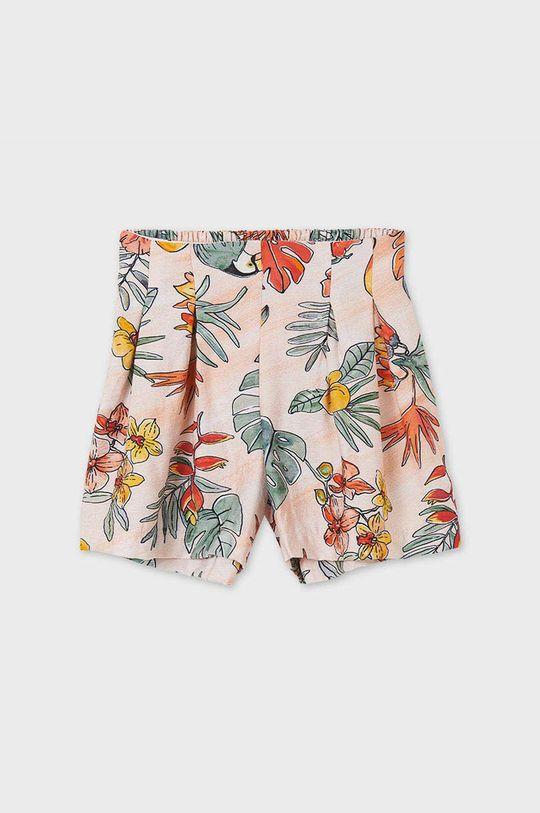 Mayoral - Detské krátke nohavice oranžová