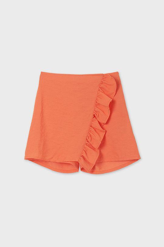 portocaliu Mayoral - Pantaloni scurti copii De fete
