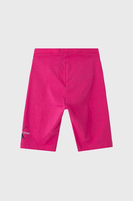 Calvin Klein Jeans - Szorty dziecięce 104-176 cm 94 % Bawełna, 6 % Elastan