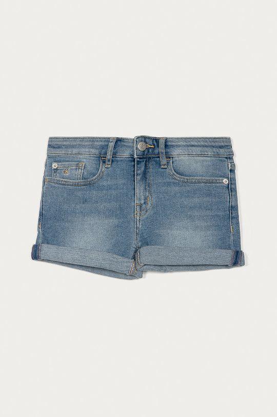 modrá Calvin Klein Jeans - Dětské riflové kraťasy 128-176 cm Dívčí