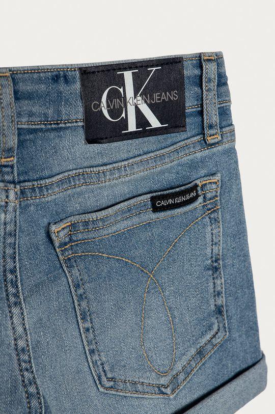 Calvin Klein Jeans - Dětské riflové kraťasy 128-176 cm  77% Bavlna, 1% Elastan, 22% Polyester