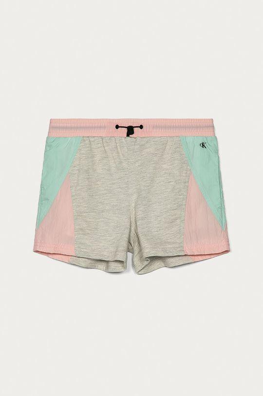 różowy Calvin Klein Jeans - Szorty dziecięce 140-176 cm Dziewczęcy
