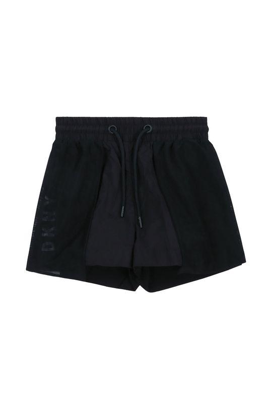 čierna Dkny - Detské krátke nohavice Dievčenský