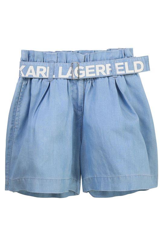 světle modrá Karl Lagerfeld - Dětské kraťasy Dívčí