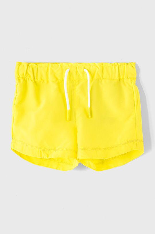 žlutá Name it - Dětské kraťasy 110-152 cm Dívčí