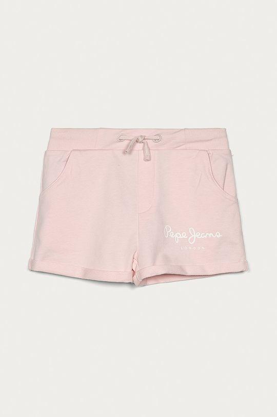 różowy Pepe Jeans - Szorty dziecięce Rosemary 128-180 cm Dziewczęcy