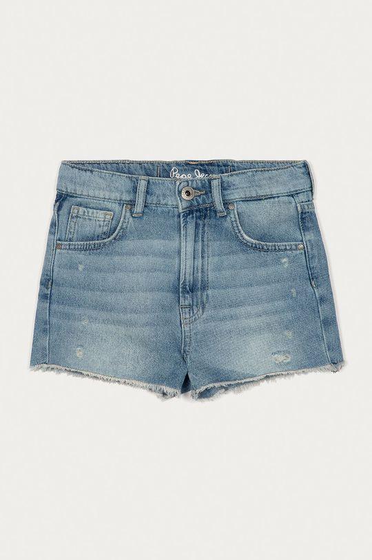 niebieski Pepe Jeans - Szorty jeansowe dziecięce Patty 128-180 cm Dziewczęcy