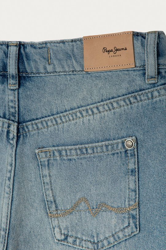 Pepe Jeans - Szorty jeansowe dziecięce Patty 128-180 cm Materiał zasadniczy: 100 % Bawełna, Podszewka kieszeni: 35 % Bawełna, 65 % Poliester