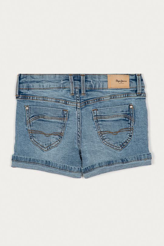 Pepe Jeans - Dětské riflové kraťasy Foxtail 128-180 cm modrá