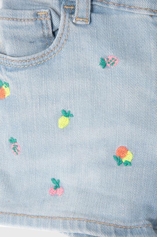GAP - Szorty jeansowe dziecięce 74-110 cm Materiał zasadniczy: 71 % Bawełna, 27 % Poliester, 2 % Spandex, Haft: 100 % Poliester