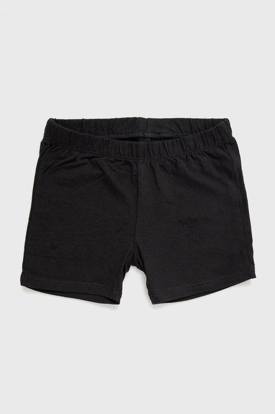 czarny GAP - Szorty dziecięce 104-176 cm (3-pack) Dziewczęcy