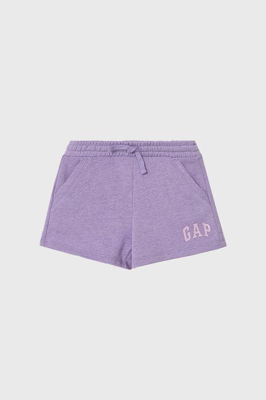lawendowy GAP - Szorty dziecięce 104-176 cm Dziewczęcy