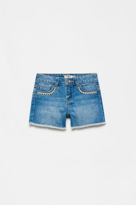 svetlomodrá OVS - Detské krátke nohavice Dievčenský