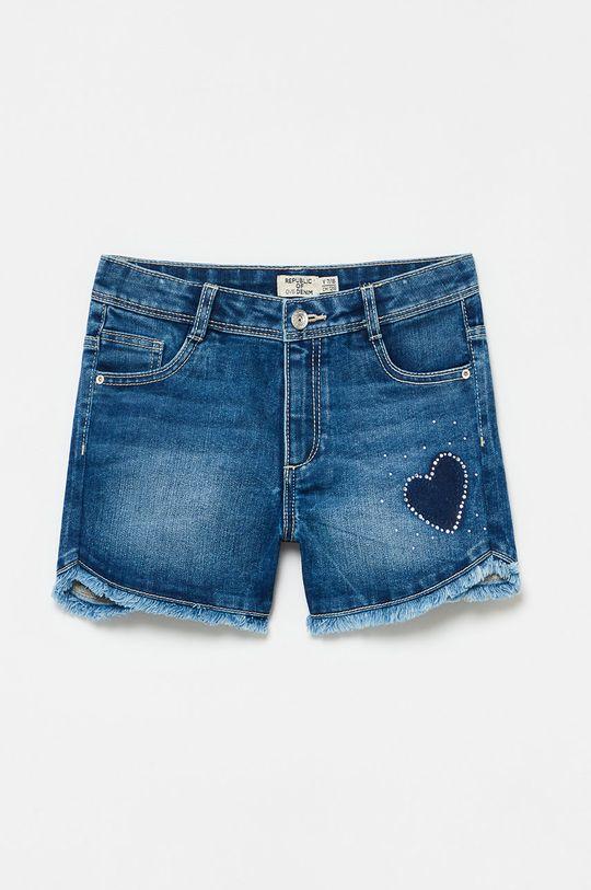 modrá OVS - Detské krátke nohavice Dievčenský