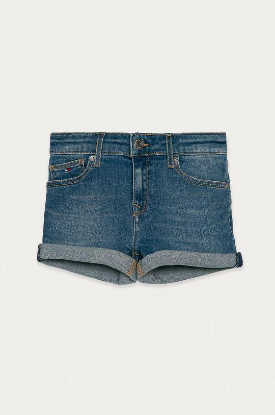 niebieski Tommy Hilfiger - Szorty jeansowe dziecięce 128-176 cm Dziewczęcy