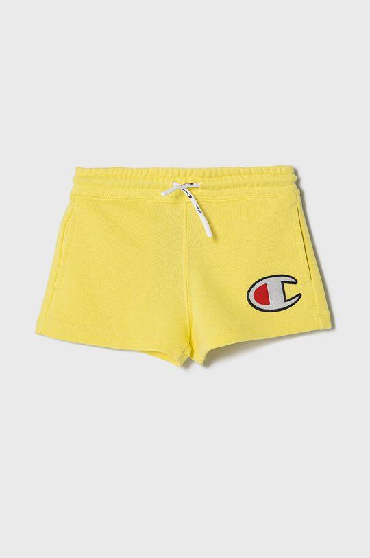 żółty Champion - Szorty dziecięce 102-179 cm Dziewczęcy