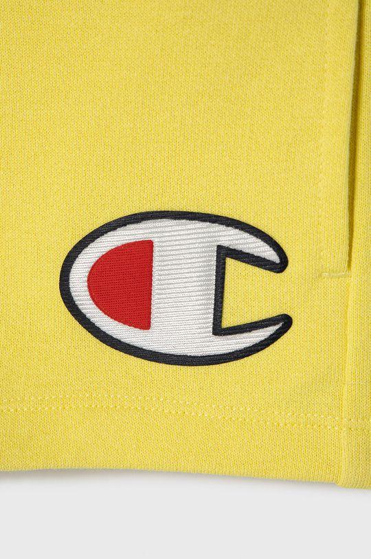 Champion - Szorty dziecięce 102-179 cm żółty