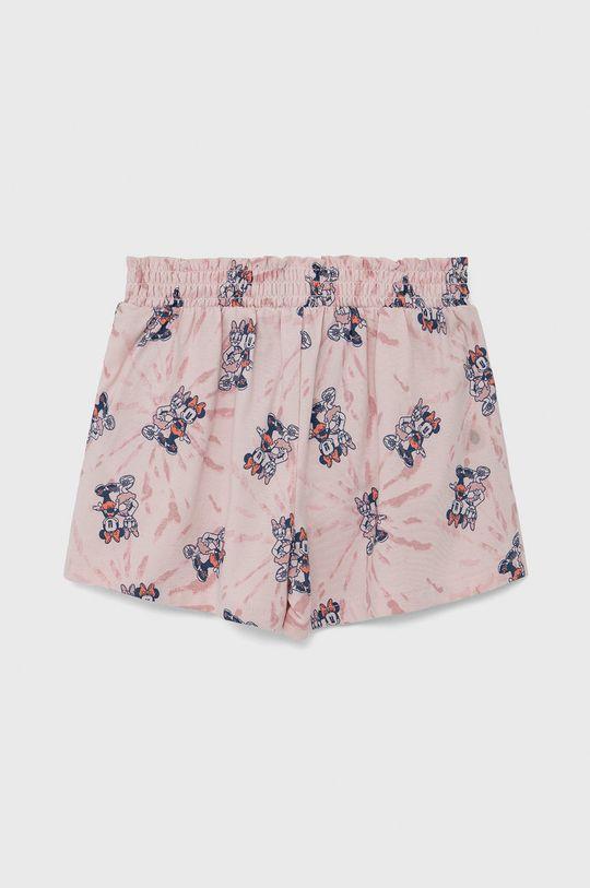 GAP - Szorty dziecięce pastelowy różowy