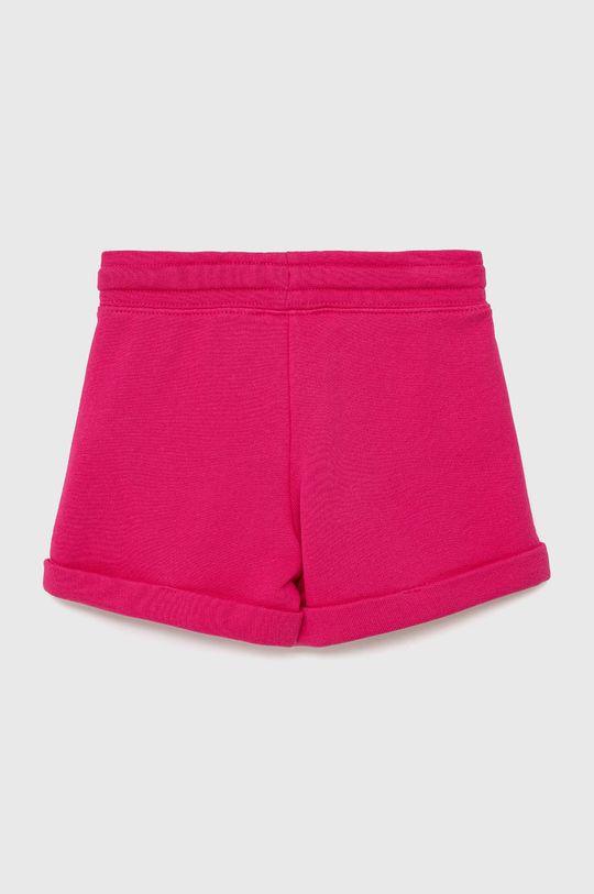 United Colors of Benetton - Dětské kraťasy růžová