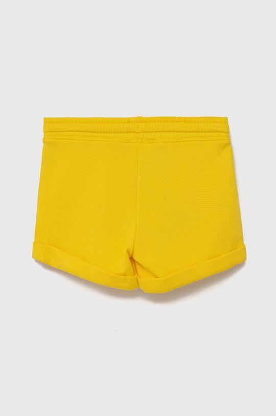 United Colors of Benetton - Dětské kraťasy žlutá