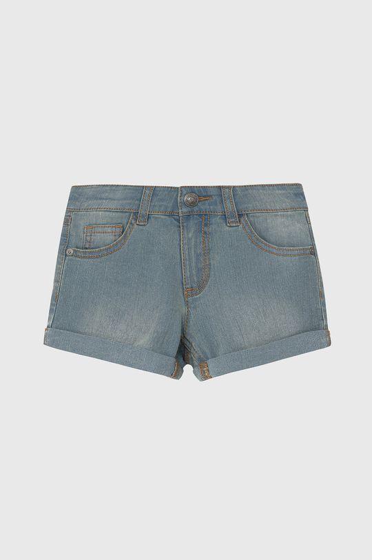 blady niebieski United Colors of Benetton - Szorty jeansowe dziecięce Dziewczęcy