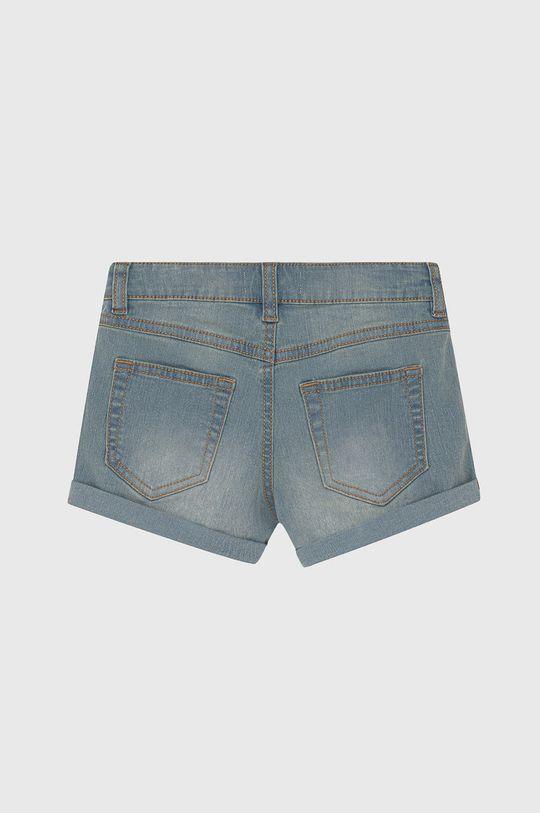 United Colors of Benetton - Szorty jeansowe dziecięce blady niebieski