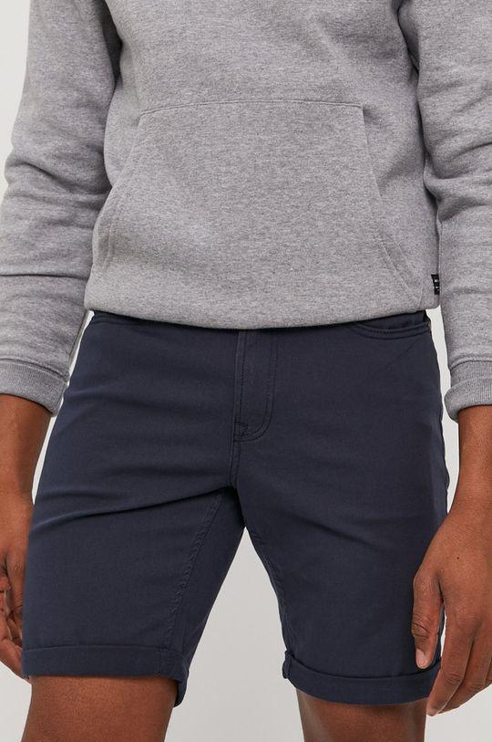 granatowy Jack & Jones - Szorty jeansowe Męski