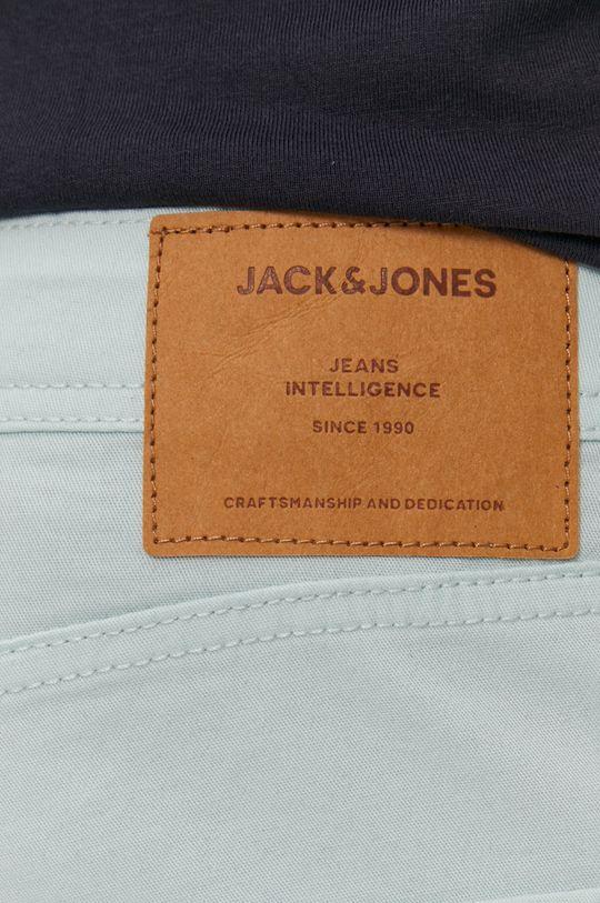 jasny zielony Jack & Jones - Szorty jeansowe