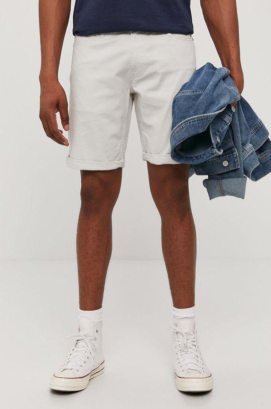 szary Jack & Jones - Szorty jeansowe Męski