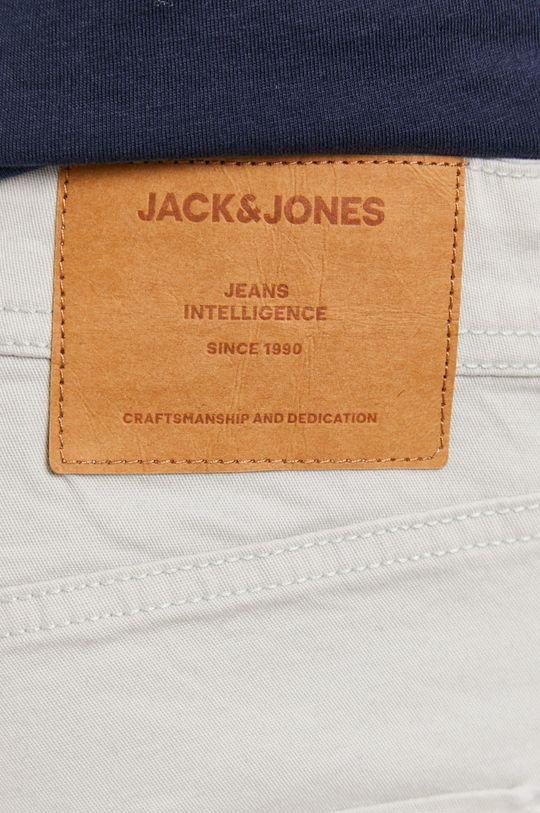 szary Jack & Jones - Szorty jeansowe