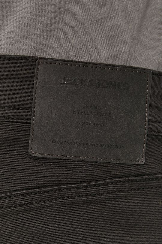 czarny Jack & Jones - Szorty jeansowe