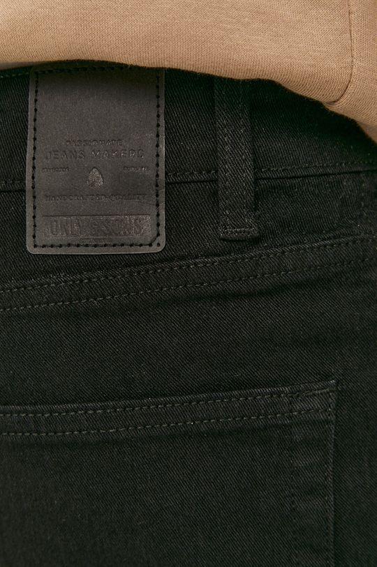 čierna Only & Sons - Rifľové krátke nohavice