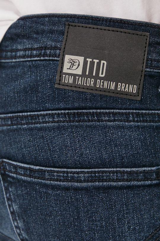 granatowy Tom Tailor - Szorty jeansowe