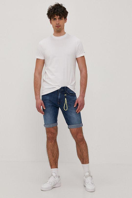 Tom Tailor - Szorty jeansowe niebieski